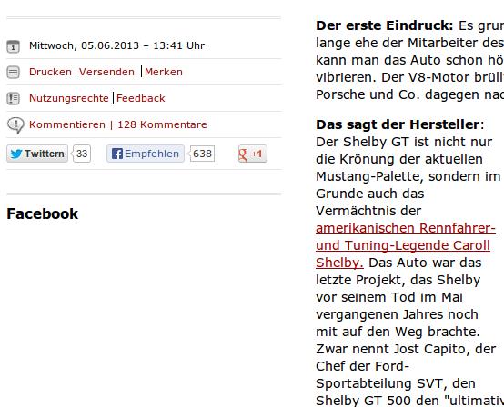 Spiegel Online, Foto vom 6.6.2013