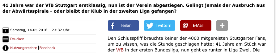 Screenshot Spiegel Online vom 15.05.2016